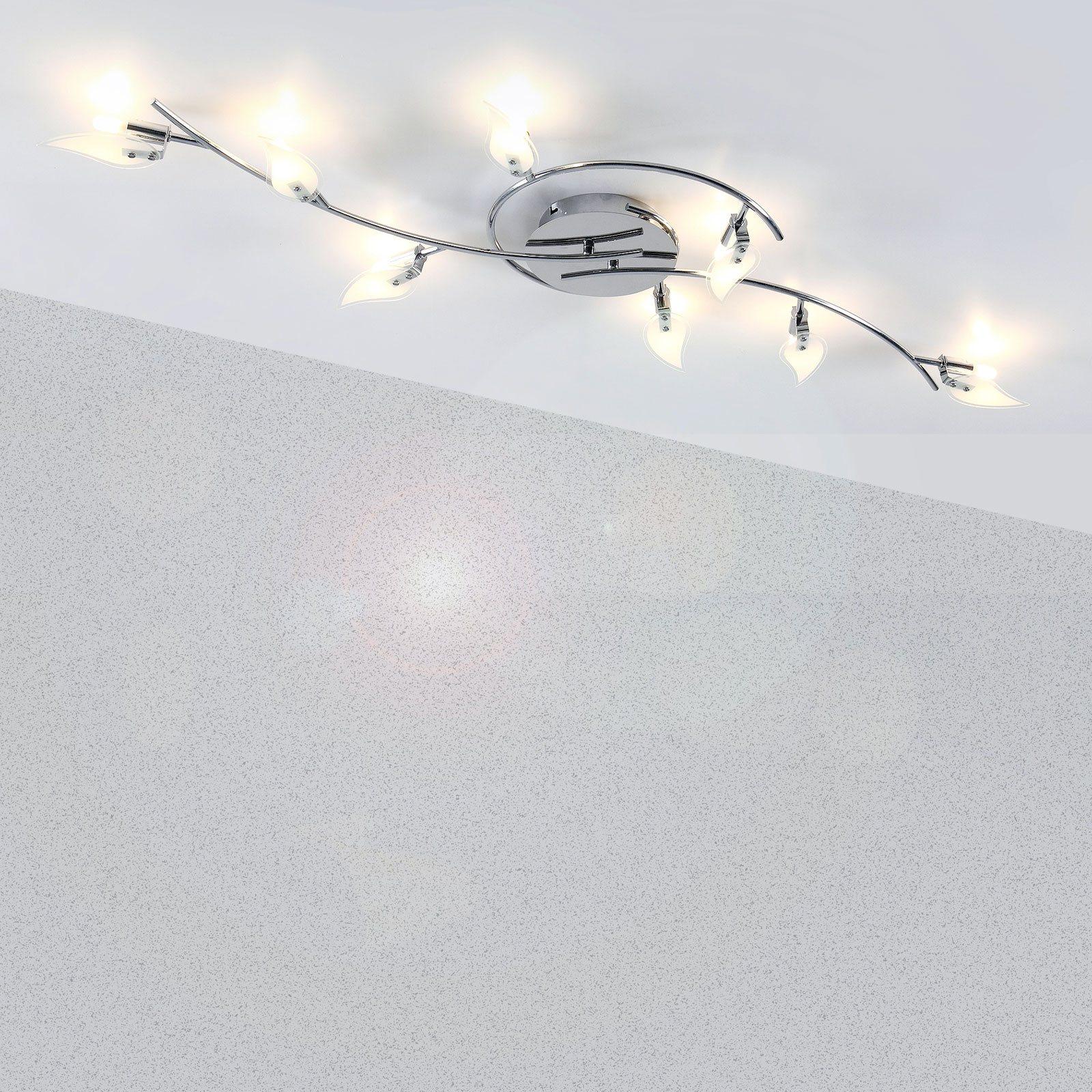 Full Size of Moderne 8 Flammige Deckenlampe Im St Form Design Wohnzimmer Deckenlampen Modern Für Modernes Sofa Duschen Bett Deckenleuchte Landhausküche Esstische 180x200 Wohnzimmer Moderne Deckenlampen
