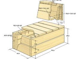 Gartenliege Holz Ikea