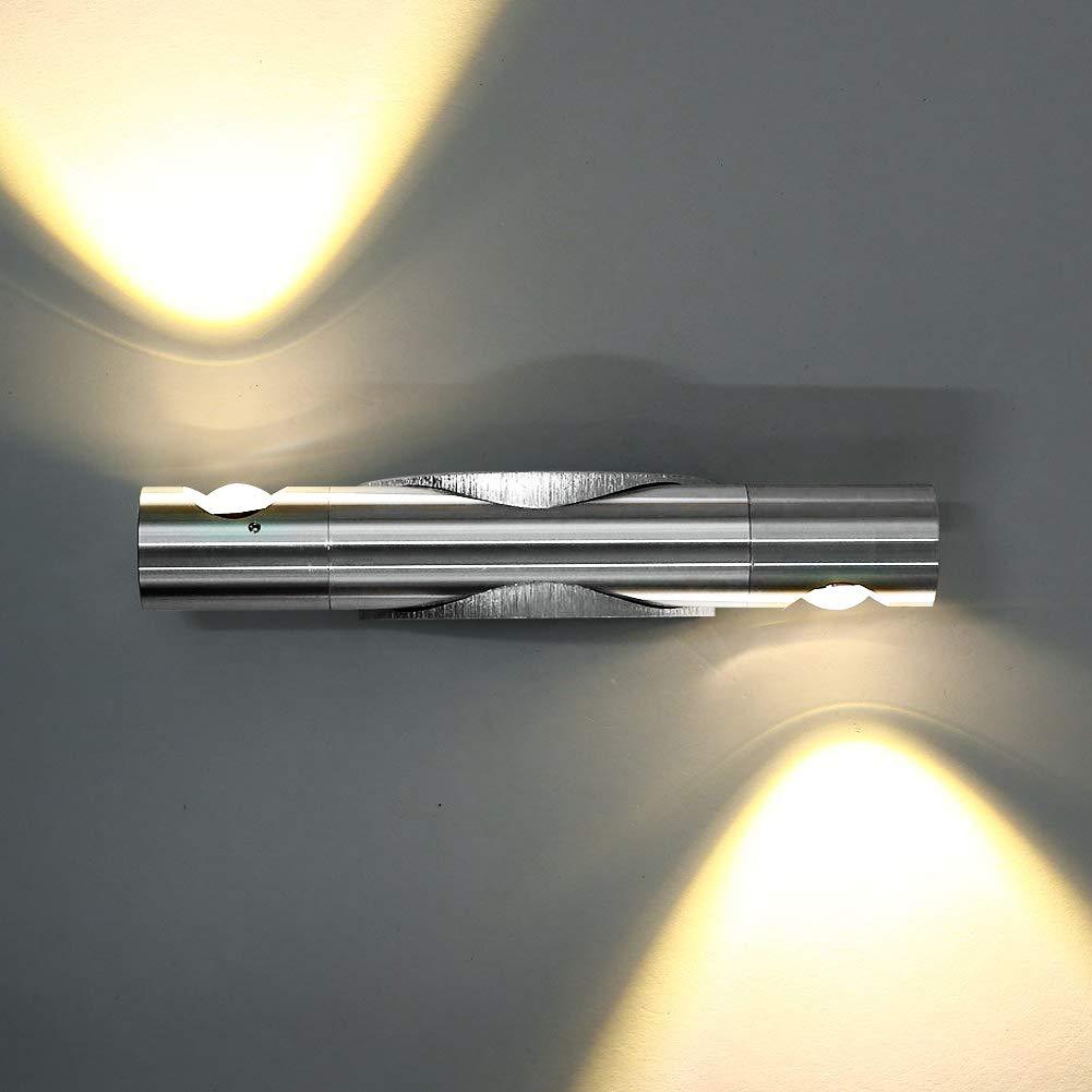 Full Size of Schlafzimmer Wandlampen Lightess 6w Led Innen Wandleuchte Modern Up And Komplett Weiß Lampe Vorhänge Set Mit Matratze Und Lattenrost Rauch Teppich Wohnzimmer Schlafzimmer Wandlampen