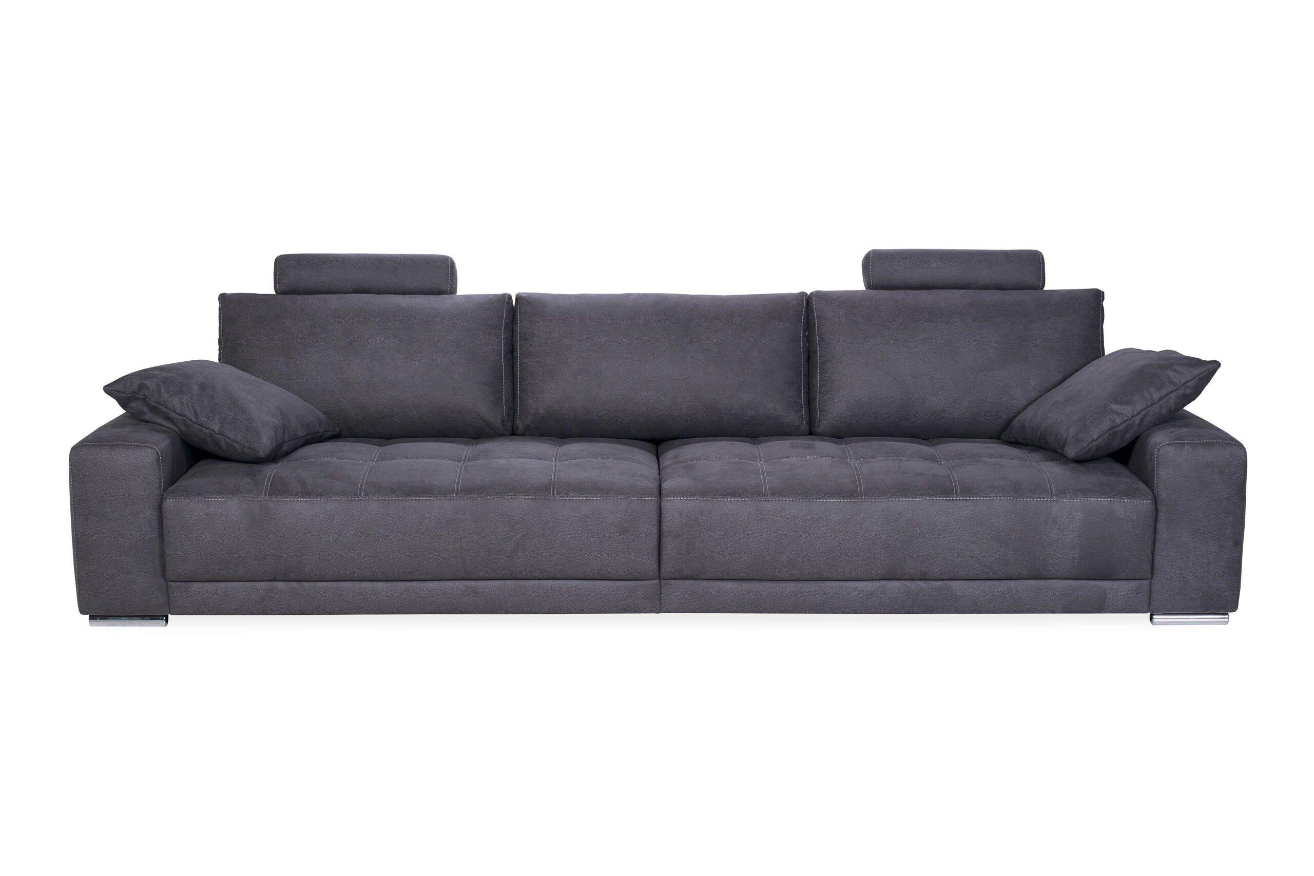 Full Size of Megasofa Aruba Ii Divano 2 Nova Via Crowe Big Sofa In Grau Mbel Letz Ihr Online Shop Wohnzimmer Megasofa Aruba