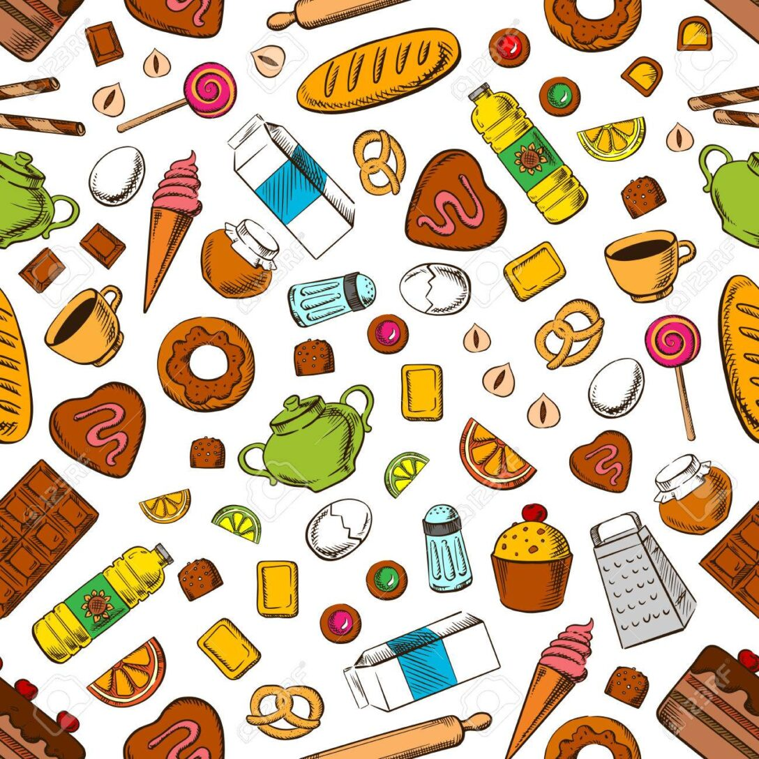 Large Size of Tgliche Mahlzeit Nahtlose Hintergrund Tapete Mit Muster Von U Form Küche Ikea Kosten Sitzecke Modulküche Billig Kaufen Eiche Hell Wasserhahn Einbauküche Wohnzimmer Tapete Küche Kaffee