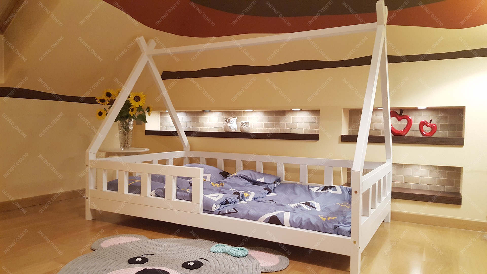 Full Size of Hausbett Kinder Bett Tipi Lila 80 160cm Hause Regal Kinderzimmer Kinderhaus Garten Regale Kinderschaukel Spielküche Konzentrationsschwäche Bei Schulkindern Wohnzimmer Hausbett Kinder