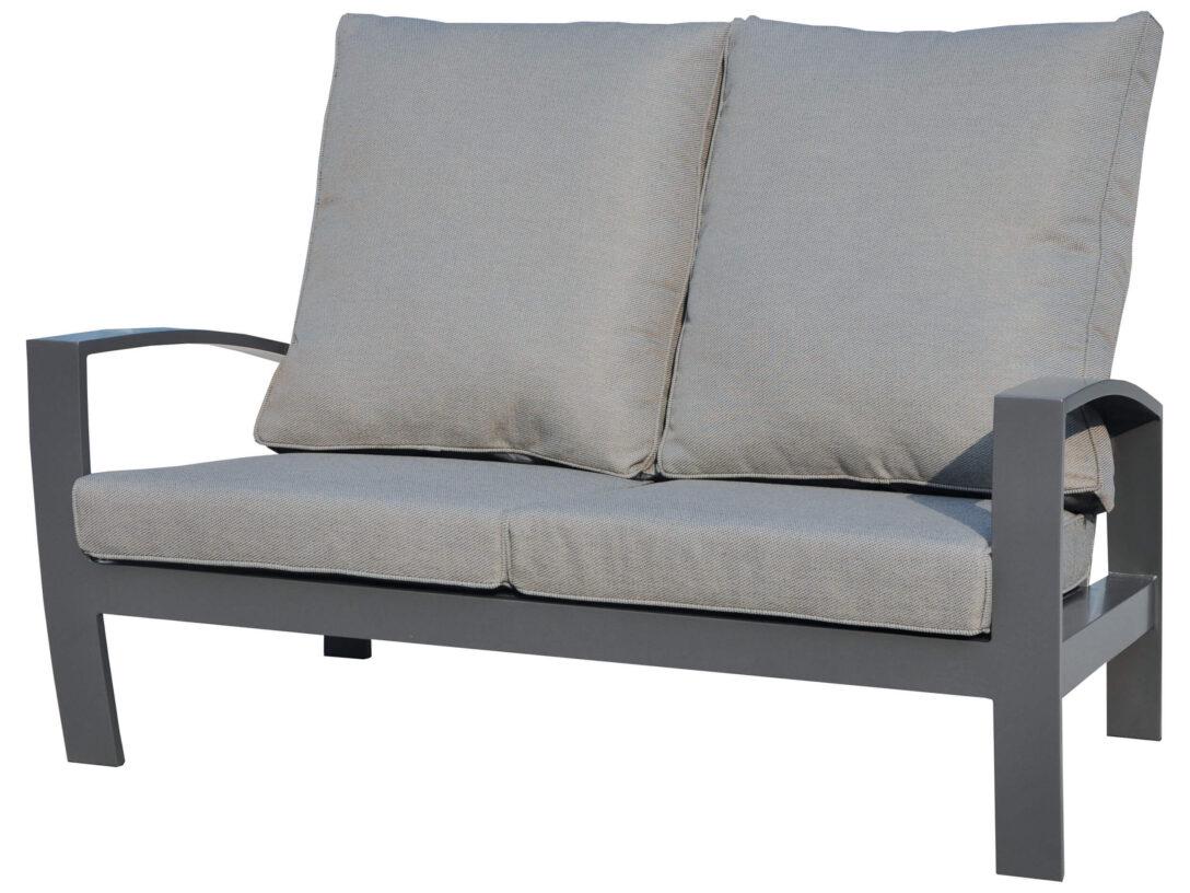 Large Size of Aluminium Lounge Valencia 2 Sitzer Sofa Gartenmbel Lnse Verbundplatte Küche Fenster Garten Loungemöbel Holz Günstig Wohnzimmer Loungemöbel Aluminium