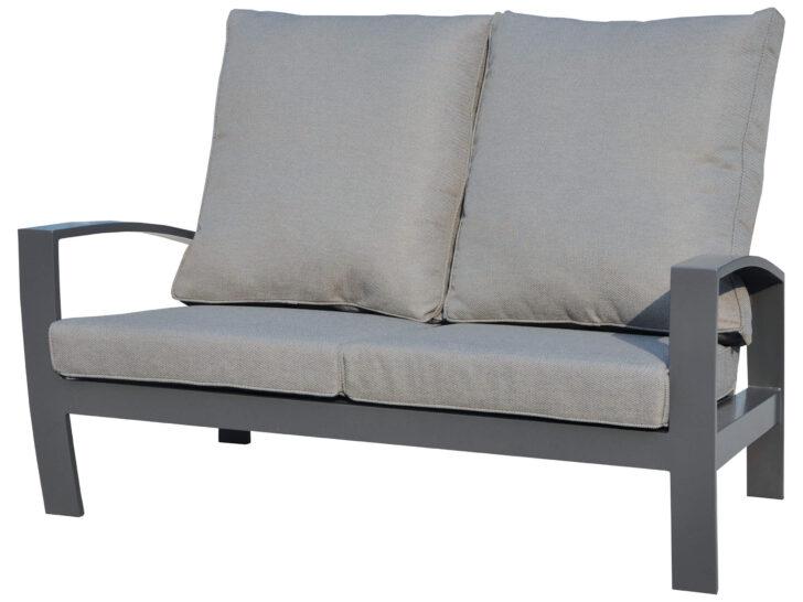 Medium Size of Aluminium Lounge Valencia 2 Sitzer Sofa Gartenmbel Lnse Verbundplatte Küche Fenster Garten Loungemöbel Holz Günstig Wohnzimmer Loungemöbel Aluminium