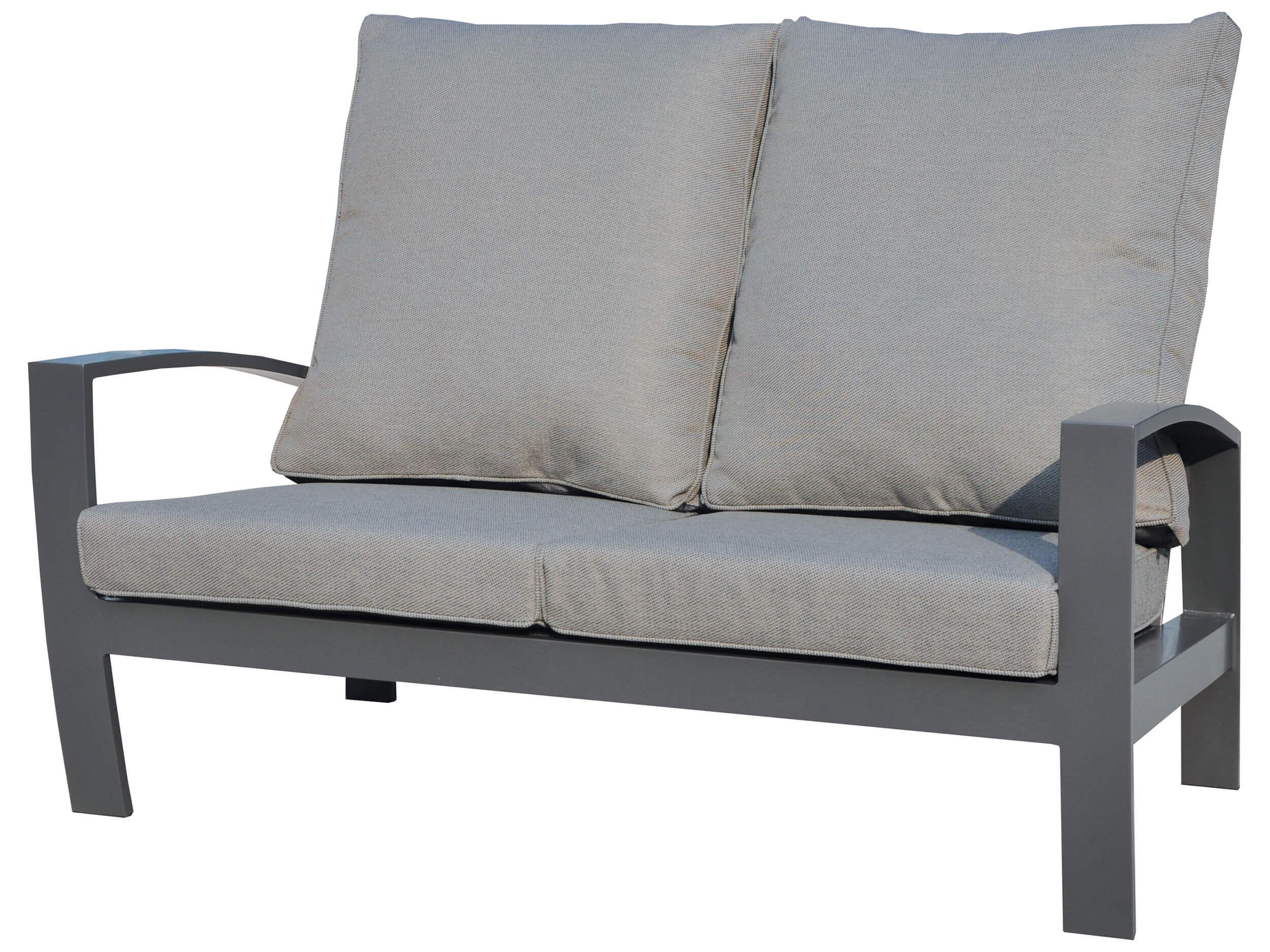 Full Size of Aluminium Lounge Valencia 2 Sitzer Sofa Gartenmbel Lnse Verbundplatte Küche Fenster Garten Loungemöbel Holz Günstig Wohnzimmer Loungemöbel Aluminium
