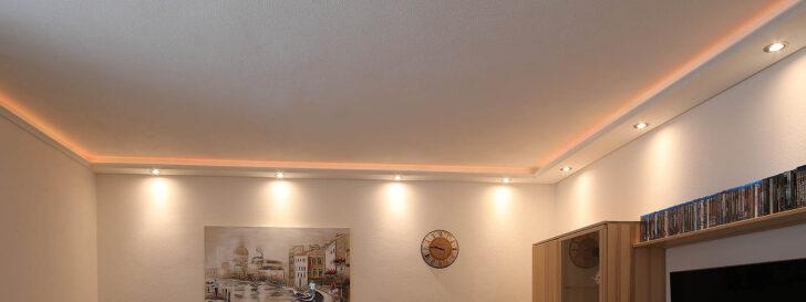 Medium Size of Wohnzimmer Led Beleuchtung Selber Bauen Ledersofa Braun Mit Moderne Wohnzimmerleuchte Fernbedienung Lampe Farbwechsel Ideen Spots Planen Amazon Indirekte Decke Wohnzimmer Wohnzimmer Led