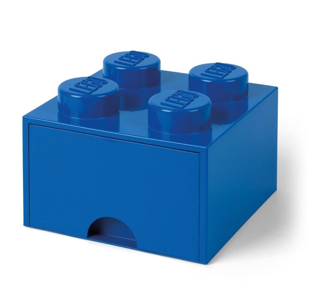 Large Size of Aufbewahrungsbehälter Lego Bausteinbomit Schublade 4 Noppen Farbe Blau Küche Wohnzimmer Aufbewahrungsbehälter