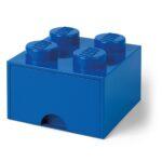 Aufbewahrungsbehälter Lego Bausteinbomit Schublade 4 Noppen Farbe Blau Küche Wohnzimmer Aufbewahrungsbehälter