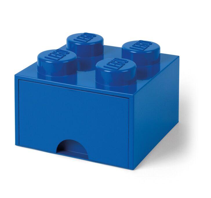 Medium Size of Aufbewahrungsbehälter Lego Bausteinbomit Schublade 4 Noppen Farbe Blau Küche Wohnzimmer Aufbewahrungsbehälter