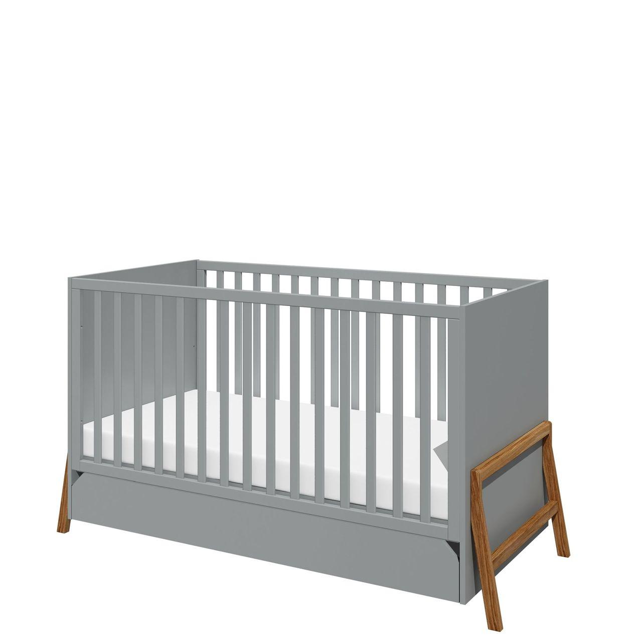 Full Size of Babybett Schwarz Mitwachsend 70x140 Grau Marta Online Furnart Schwarze Küche Bett 180x200 Schwarzes Weiß Wohnzimmer Babybett Schwarz