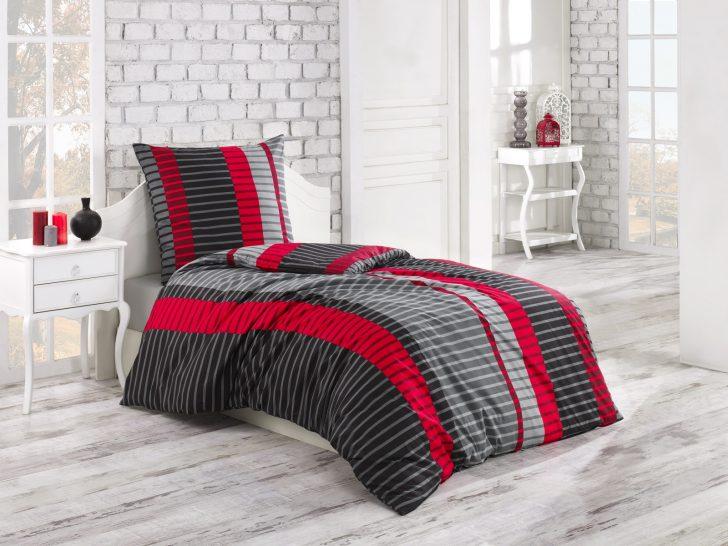 Medium Size of Bettwäsche 155x220 2 Tlg Renforce Baumwolle Bettwsche Cm Wind Rot Trendbuy24 Sprüche Wohnzimmer Bettwäsche 155x220