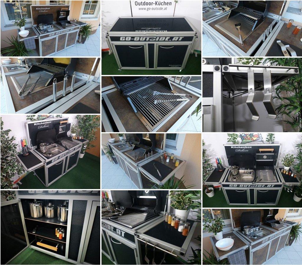 Full Size of Mobile Outdoorküche Outdoor Kche Bbq Piraten Küche Wohnzimmer Mobile Outdoorküche