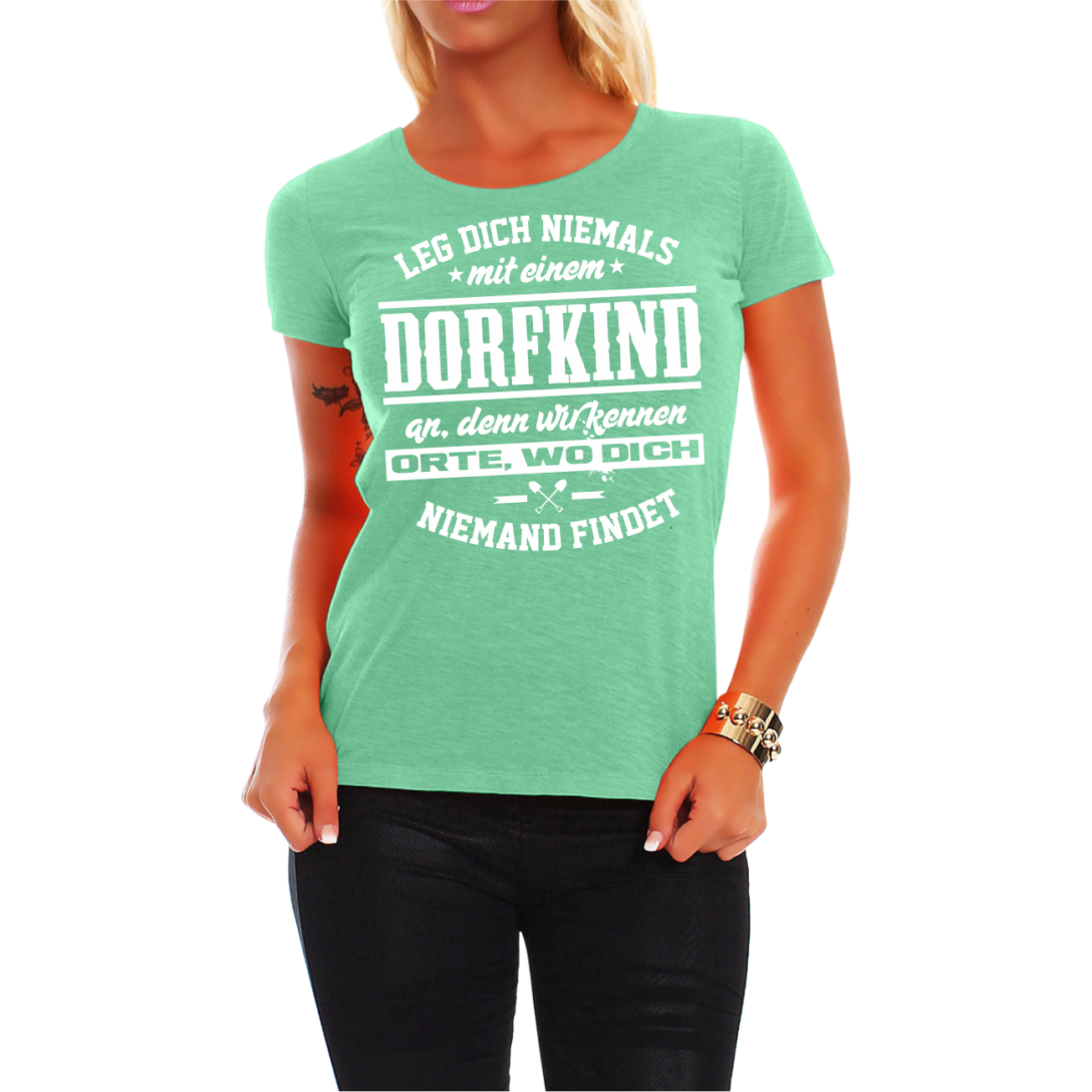 Large Size of Frauen Damen T Shirt Dorfkind Spruch Fun Spa Lustig Witzig Regal Industrie Industrial Esstisch Hotels In Bad Reichenhall Behindertengerechte Küche Wohnzimmer Lustige T Shirt Sprüche