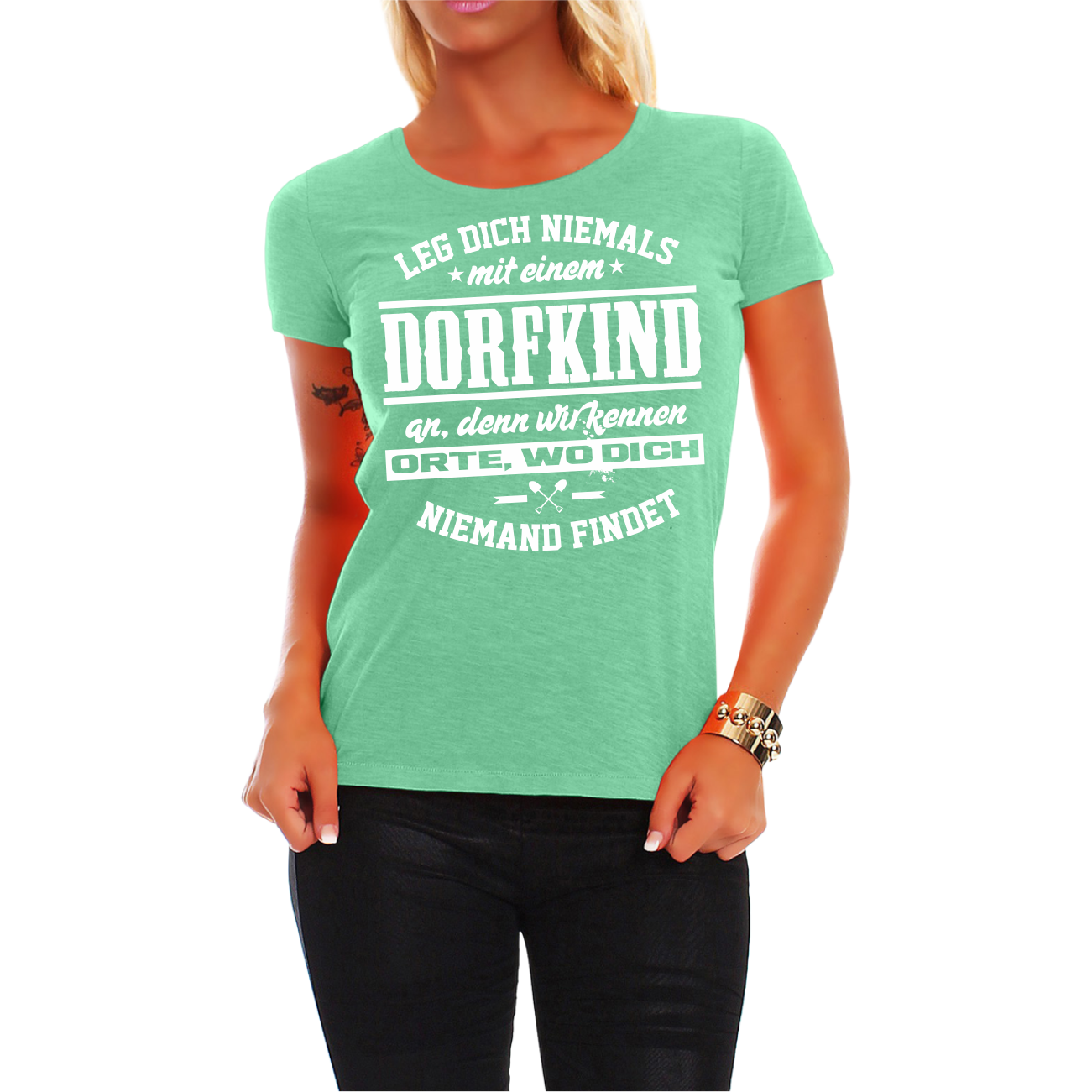 Full Size of Frauen Damen T Shirt Dorfkind Spruch Fun Spa Lustig Witzig Regal Industrie Industrial Esstisch Hotels In Bad Reichenhall Behindertengerechte Küche Wohnzimmer Lustige T Shirt Sprüche