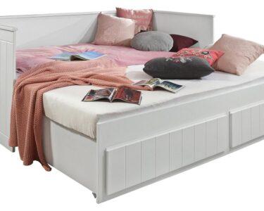 Ausziehbares Doppelbett Wohnzimmer Ausziehbares Doppelbett Ikea Ausziehbare Doppelbettcouch Stauraumbett Timmi Wei 90 180x200 Online Kaufen Mbeliin Bett