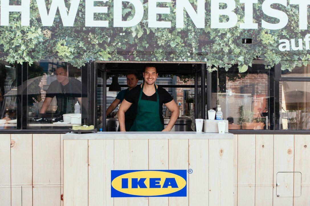 Large Size of Mobile Küche Ikea Schwedenbistro Auf Achse Schickt Food Truck Kche Komplettküche Betten 160x200 Arbeitsplatten Outdoor Kaufen Raten Ausstellungsstück Wohnzimmer Mobile Küche Ikea