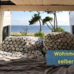 Ausziehbett Camper Wohnzimmer Wohnmobil Bett Bauen Im Mercedes Sprinter Campervan Youtube Mit Ausziehbett