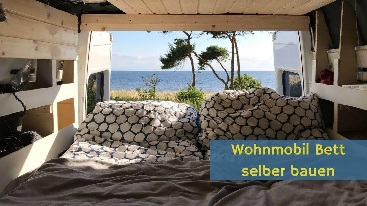 Full Size of Wohnmobil Bett Bauen Im Mercedes Sprinter Campervan Youtube Mit Ausziehbett Wohnzimmer Ausziehbett Camper