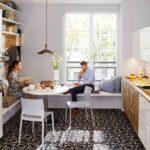 Kche Mit Essplatz Grundriss Bank Integriert Esstisch Pinterest Bodenfliesen Küche Holzregal Komplette Ohne Hängeschränke Vorratsschrank Singleküche Wohnzimmer Küche Essplatz