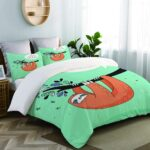 Bettwäsche Lustig Wohnzimmer Zoanen Bettwsche Bettwscheset Se Handgezeichnete Faultiere T Shirt Lustige Sprüche Bettwäsche T Shirt