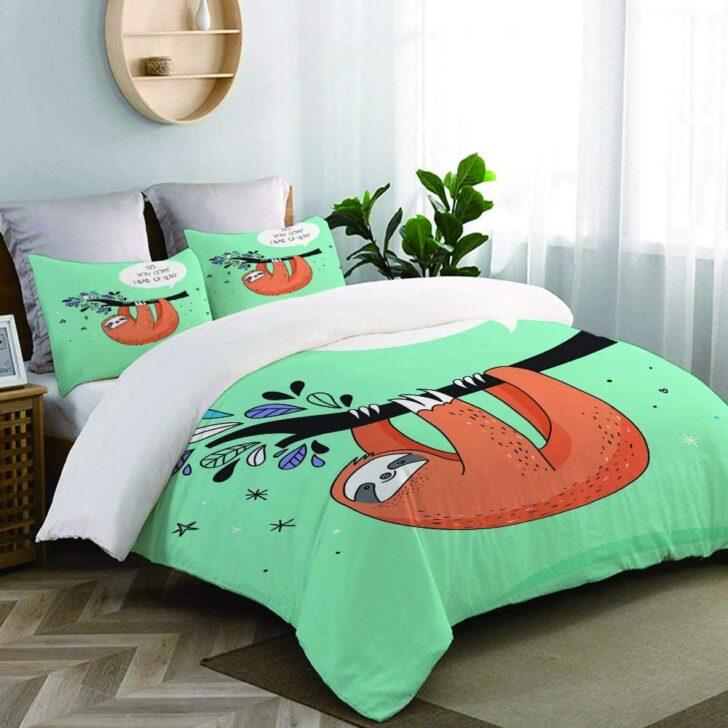 Medium Size of Zoanen Bettwsche Bettwscheset Se Handgezeichnete Faultiere T Shirt Lustige Sprüche Bettwäsche T Shirt Wohnzimmer Bettwäsche Lustig