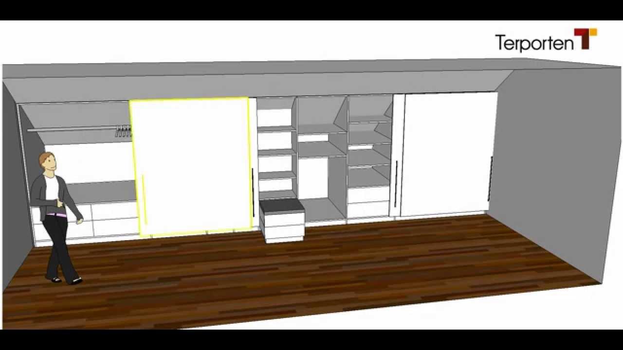 Full Size of Kleiderschrank In Einer Dachschrge Terporten Tischler Schreiner Mit Regal Hängeschrank Weiß Hochglanz Wohnzimmer Oberschrank Küche Bad Midischrank Wohnzimmer Schrank Dachschräge Hinten Ikea