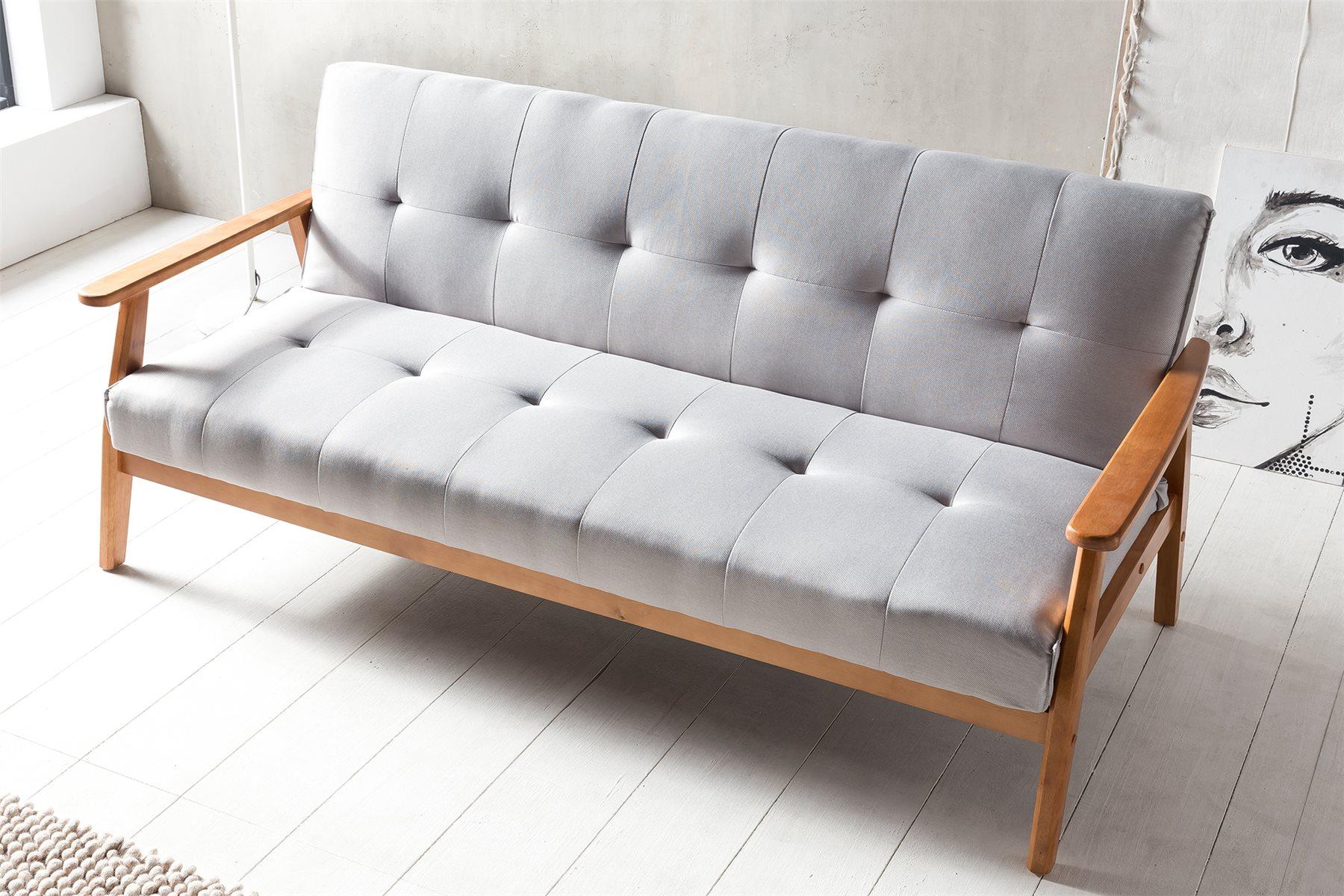 Full Size of Couch Ausklappbar Schlafsofa Dandis Im Skandinavisch Frischem Design Massivmbel Ausklappbares Bett Wohnzimmer Couch Ausklappbar