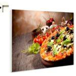 Magnettafel Pinnwand Kche Pizza Mit Oliven Ebay Landhaus Küche Einhebelmischer Singleküche Kühlschrank U Form Theke Tapete Modern Vorhang Inselküche Wohnzimmer Pinnwand Modern Küche