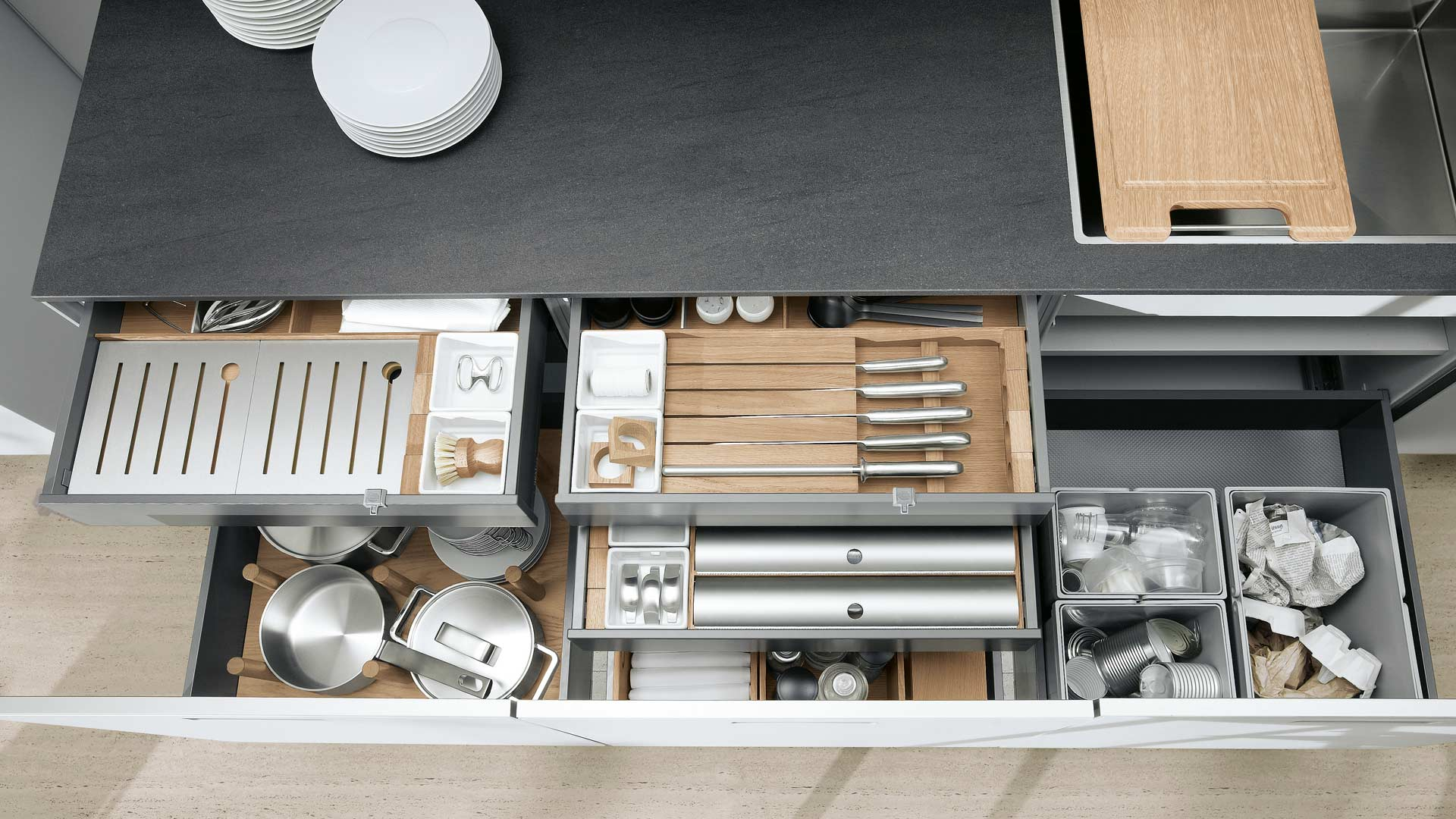 Full Size of Gewürze Schubladeneinsatz Stauraumlsungen Khen Design In Kriftel Kchenpartner Schubbach Küche Wohnzimmer Gewürze Schubladeneinsatz