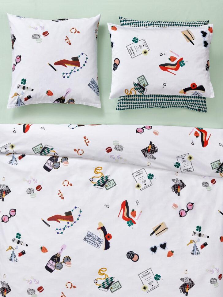 Medium Size of Lustige Bettwäsche 155x220 Christian Fischbacher Catwalk Kollektion 2020 Textile Trume T Shirt Sprüche T Shirt Wohnzimmer Lustige Bettwäsche 155x220