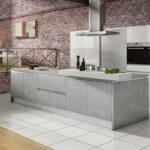 Küche Weiß Grau Weisse Landhausküche Ikea Kosten Bett 120x200 Rückwand Glas Bauen Hängeregal Hochglanz Kleiner Esstisch Wandverkleidung Weißes Regal Wohnzimmer Küche Weiß Grau