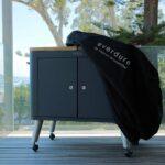Mobile Outdoorküche Everdure Outdoor Kche Premium Abdeckhaube Grill Heaven Küche Wohnzimmer Mobile Outdoorküche