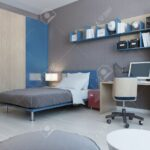 Zimmer Teenager Wohnzimmer Zimmer Teenager Ansicht Von In Roten Und Blauen Farben Hellgrau Fürs Wohnzimmer Wandleuchte Schlafzimmer Board Wandtattoo Vorhänge Joop Weißes Kosten