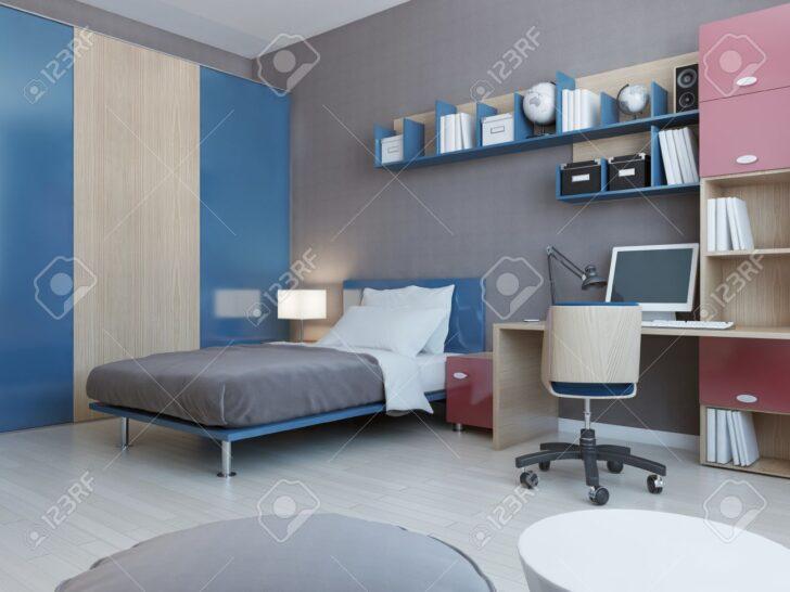 Medium Size of Zimmer Teenager Ansicht Von In Roten Und Blauen Farben Hellgrau Fürs Wohnzimmer Wandleuchte Schlafzimmer Board Wandtattoo Vorhänge Joop Weißes Kosten Wohnzimmer Zimmer Teenager