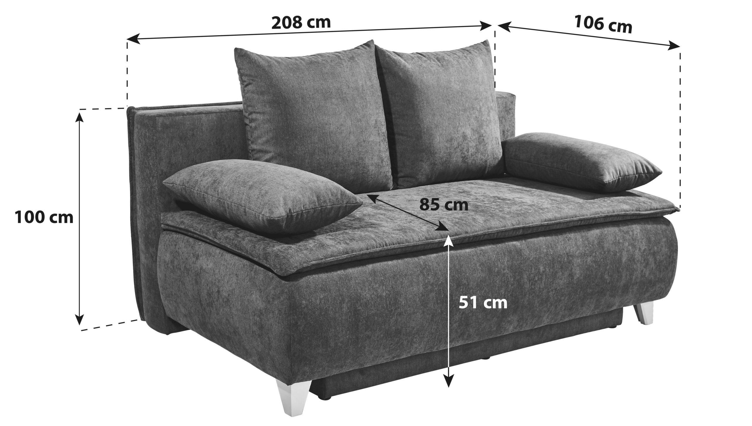 Full Size of Großes Sofa Mit Bettfunktion Sofas Online Kaufen Mbelix Günstig Canape Lila Mitarbeitergespräche Führen Halbrund Echtleder Schlaffunktion Federkern Wohnzimmer Großes Sofa Mit Bettfunktion
