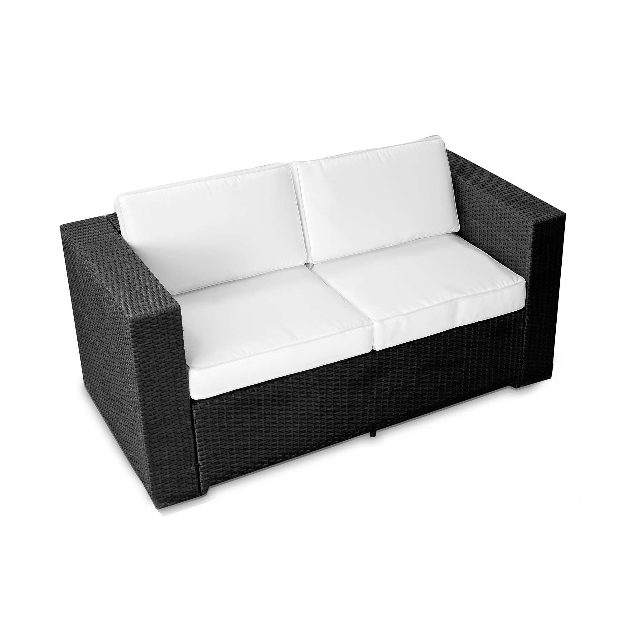 Full Size of Garten Couch 2 Sitzer Gartensofa Rattan Ausziehbar Polyrattan Aluminium Sofa Vidaxl 2 Sitzer Massivholz Akazie Gnstig Kaufen Mit Relaxfunktion 3 Bett 140x200 Wohnzimmer Gartensofa 2 Sitzer