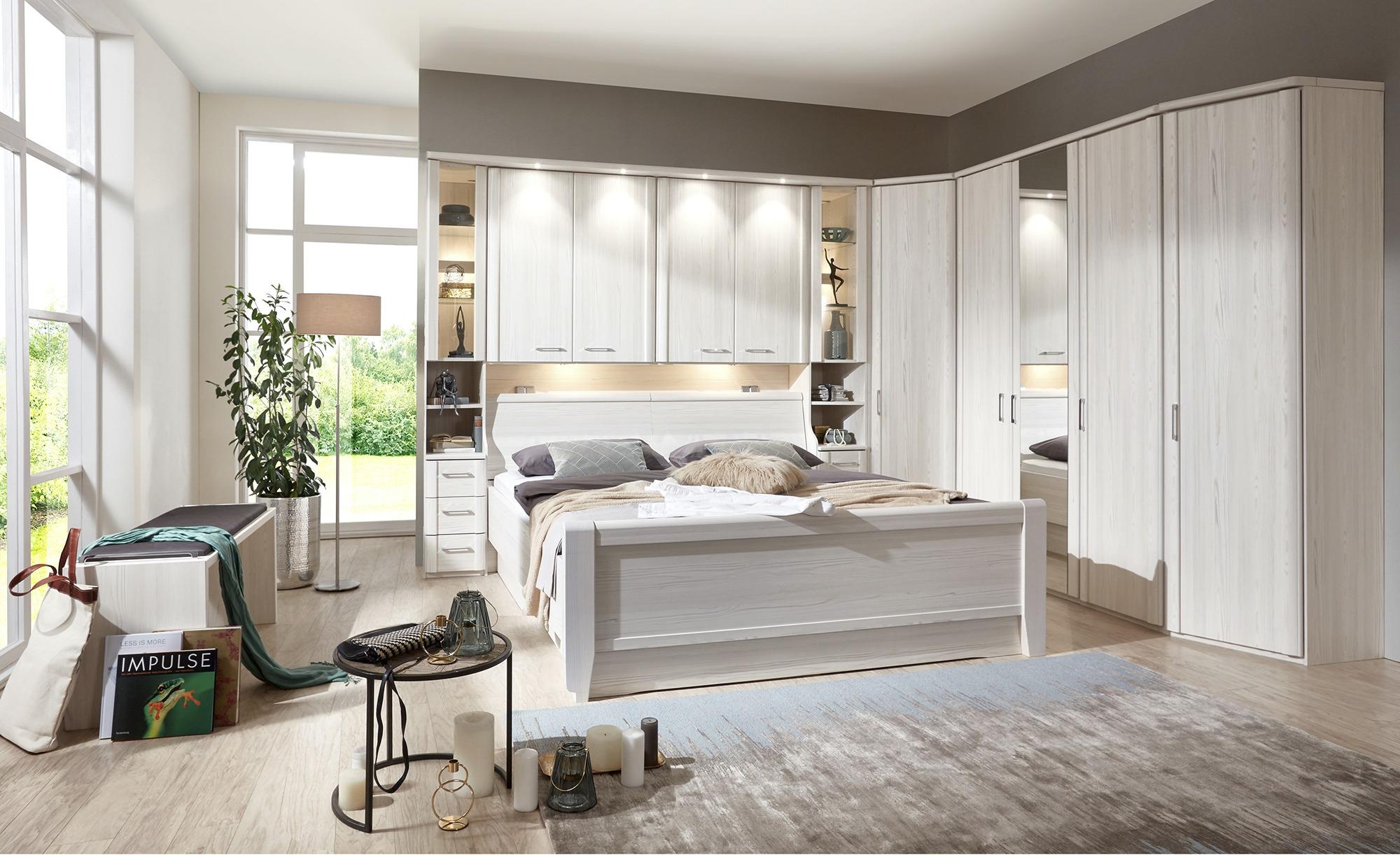 Full Size of Schlafzimmer überbau Komplett Luxor 4 Mbel Hffner Gardinen Weißes Nolte Komplettangebote Wandtattoo Deckenleuchten Weiß Wiemann Teppich Weiss Loddenkemper Wohnzimmer Schlafzimmer überbau