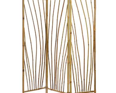 Paravent Bambus Balkon Wohnzimmer Paravent Outdoor B135xh175cm Garten Bambus Bett