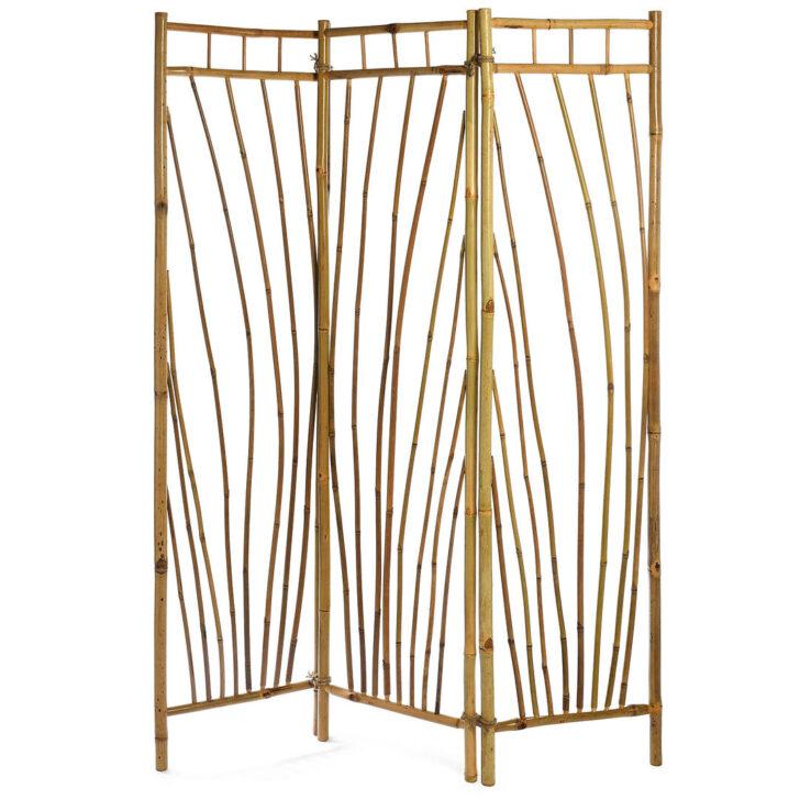 Medium Size of Paravent Outdoor B135xh175cm Garten Bambus Bett Wohnzimmer Paravent Bambus Balkon
