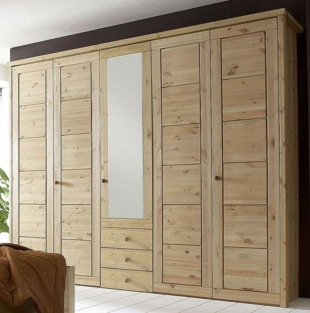 Full Size of Schlafzimmerschränke Massivholz Schlafzimmerschrank 5trig Kleiderschrank Kiefer Wohnzimmer Schlafzimmerschränke