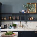 Küche Blau Farben In Der Kche Stilvolle Inspirationen Mit Farrow Ball Hängeschrank Höhe Einhebelmischer Hochschrank Modulküche Ikea Weisse Landhausküche Wohnzimmer Küche Blau