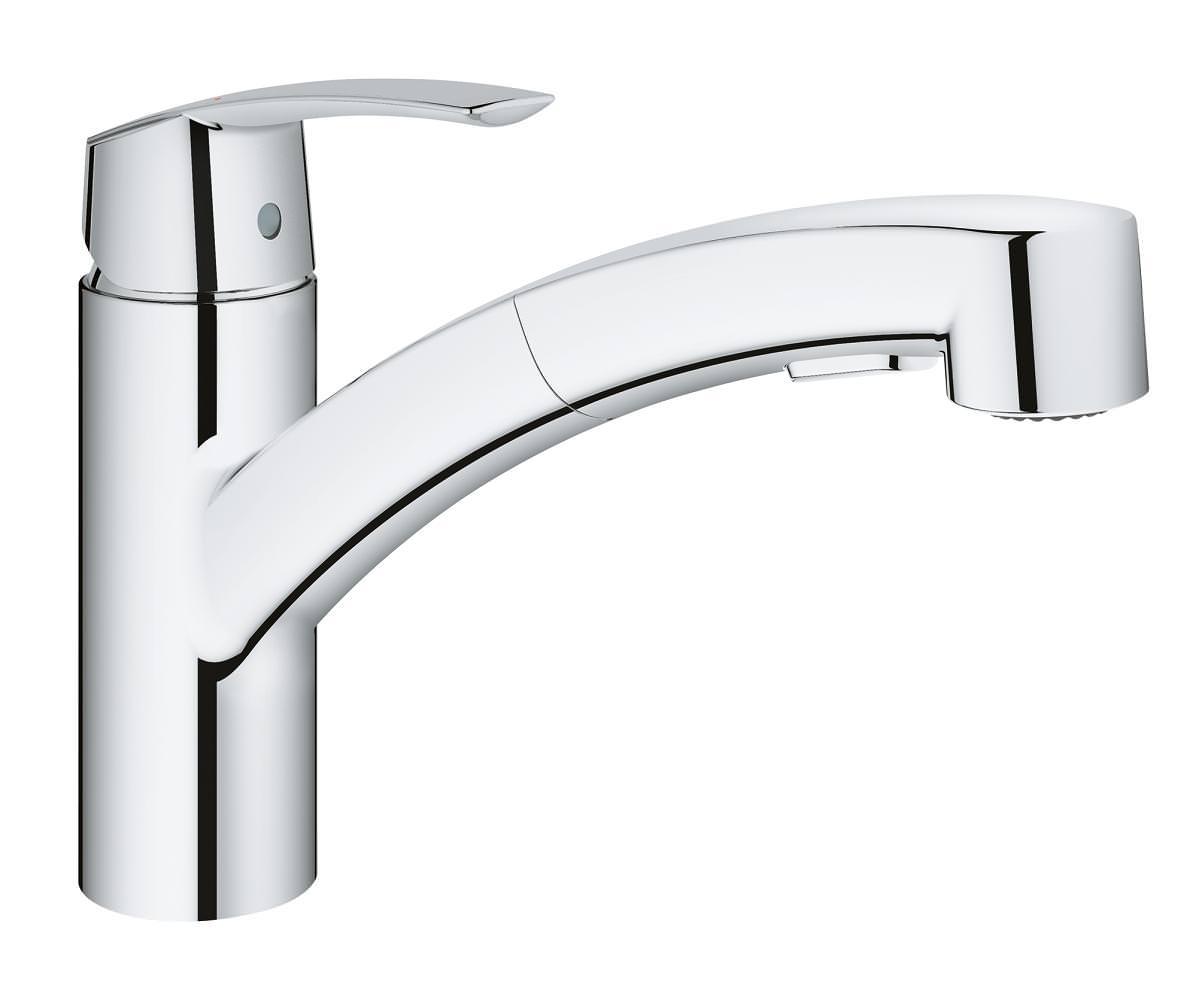 Full Size of Grohe Wasserhahn Start Mit Geschirrbrause Dusche Küche Bad Für Thermostat Wandanschluss Wohnzimmer Grohe Wasserhahn