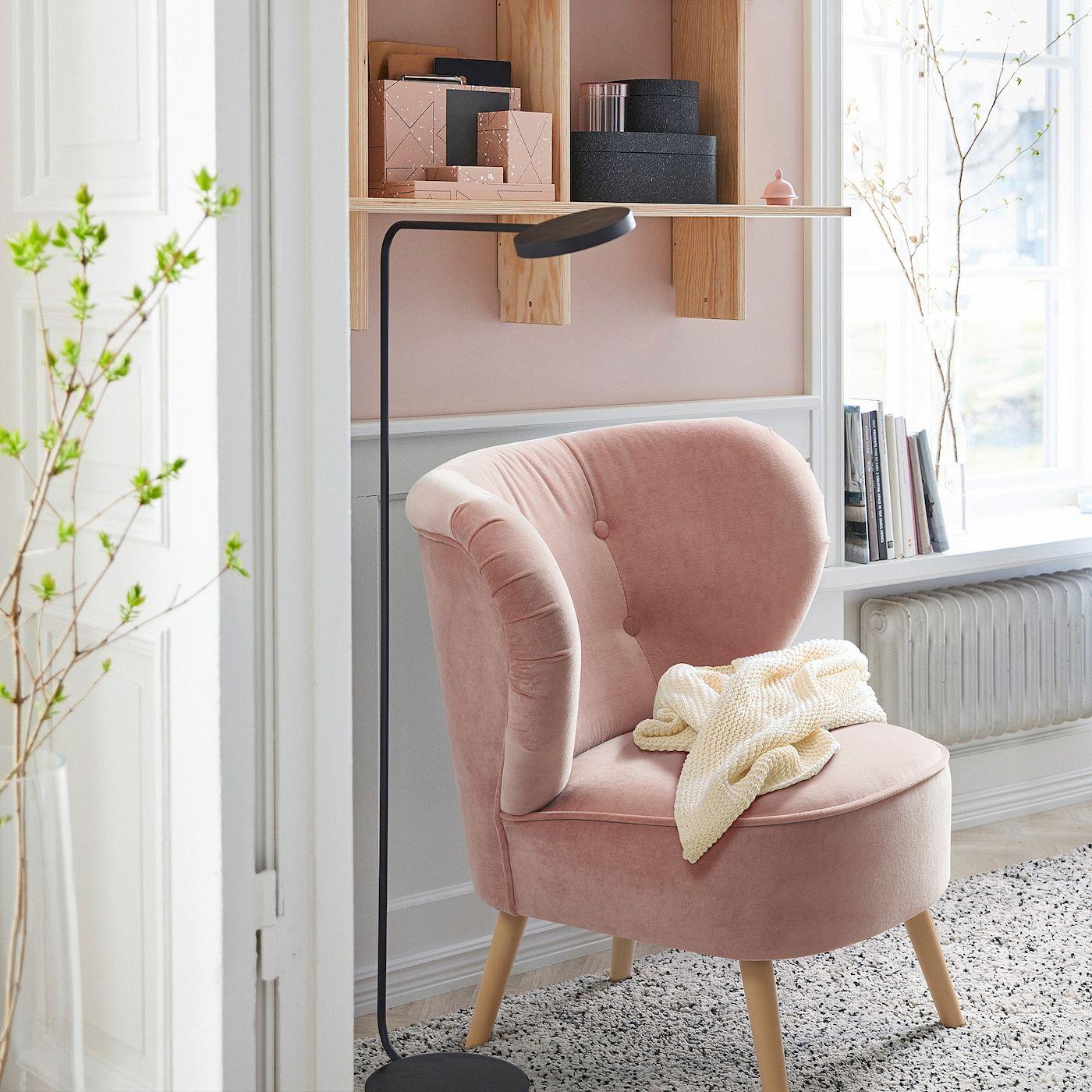 Full Size of Sessel Rosa Ikea Samt Kariert Gubbo Neu Vedbo Deutschland In 2020 Sofa Mit Schlaffunktion Modulküche Schlafzimmer Miniküche Betten 160x200 Küche Kaufen Wohnzimmer Sessel Rosa Ikea