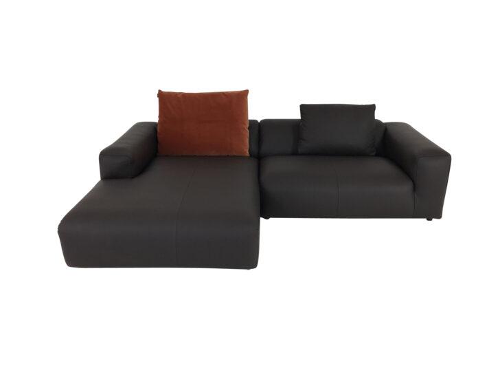 Medium Size of Recamiere Samt Freistil 187 Rolf Benz Sofa Mit In Leder Dunkelbraun Mut Wohnzimmer Recamiere Samt