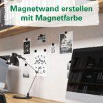 Magnetwand Küche Magnetfarbe Fr Magnetische Funktionswnde In Bro Fliesenspiegel Selber Machen Niederdruck Armatur Billig Zusammenstellen Polsterbank Wohnzimmer Magnetwand Küche
