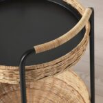 Rattan Beistelltisch Ikea Lubban Rolltisch Mit Aufbewahrung Betten 160x200 Modulküche Garten Küche Bei Polyrattan Sofa Kosten Schlaffunktion Bett Wohnzimmer Rattan Beistelltisch Ikea