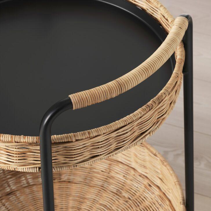 Medium Size of Rattan Beistelltisch Ikea Lubban Rolltisch Mit Aufbewahrung Betten 160x200 Modulküche Garten Küche Bei Polyrattan Sofa Kosten Schlaffunktion Bett Wohnzimmer Rattan Beistelltisch Ikea