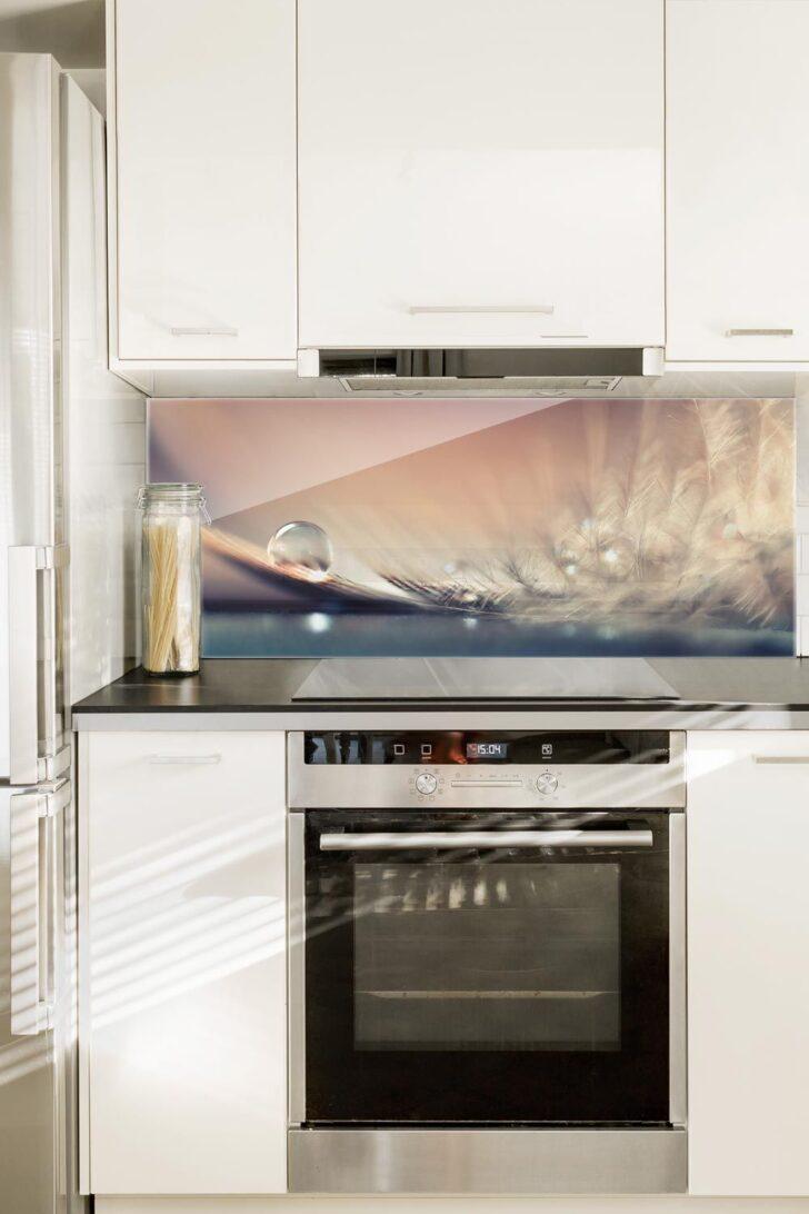 Medium Size of Spritzschutz Glas Story Of A Waterdrop Panorama Quer In 2020 Laminat Für Bad Badezimmer Küche Der Im Fürs Wohnzimmer Küchenrückwand Laminat