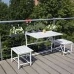 Ideen Fr Kleine Balkone Bauemotionde Klapptisch Küche Landhaus Was Kostet Eine Neue Gardinen Für Die Singelküche Fliesenspiegel Vorhänge Grifflose Wohnzimmer Kräutertopf Küche Ikea