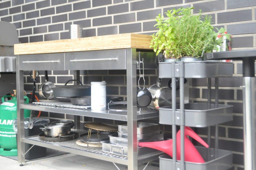 Full Size of Grill Beistelltisch Ikea Weber Tisch Dsc 0365 Bbq Blog Weisse Landhauskche Kche Holz Wei Betten Bei Küche Kosten Kaufen Garten Grillplatte Sofa Mit Wohnzimmer Grill Beistelltisch Ikea